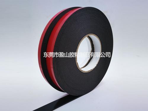 红膜黑色海绵双面胶带