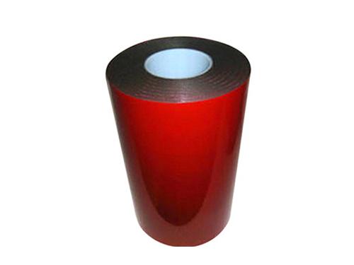 PE泡棉双面胶红膜黑色