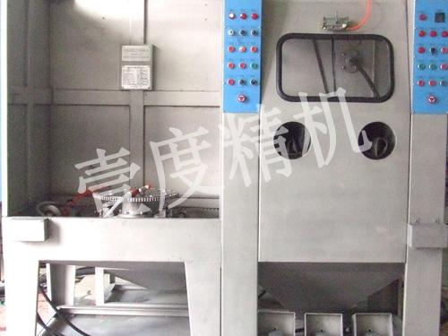 台车转盘式自动水喷砂机