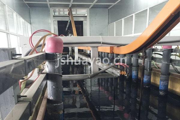 浙江雅虎汽车座椅电泳涂装线