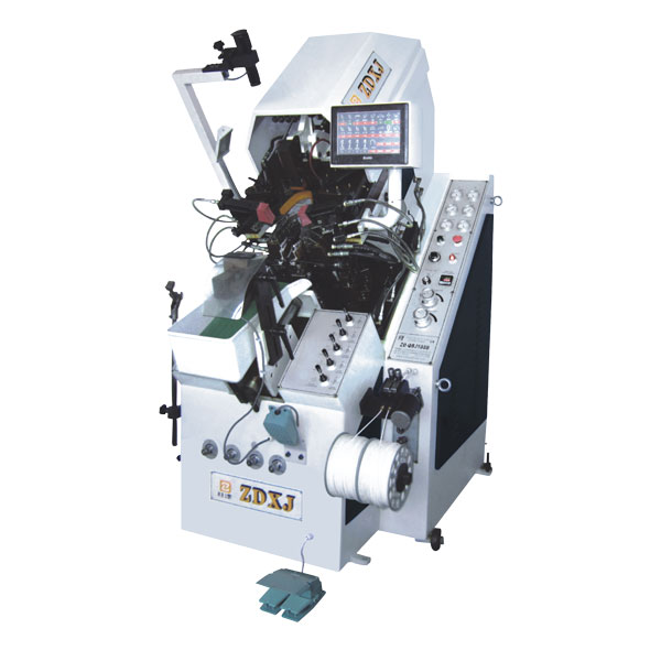 全自动九爪油压数控记忆自动上胶前帮机