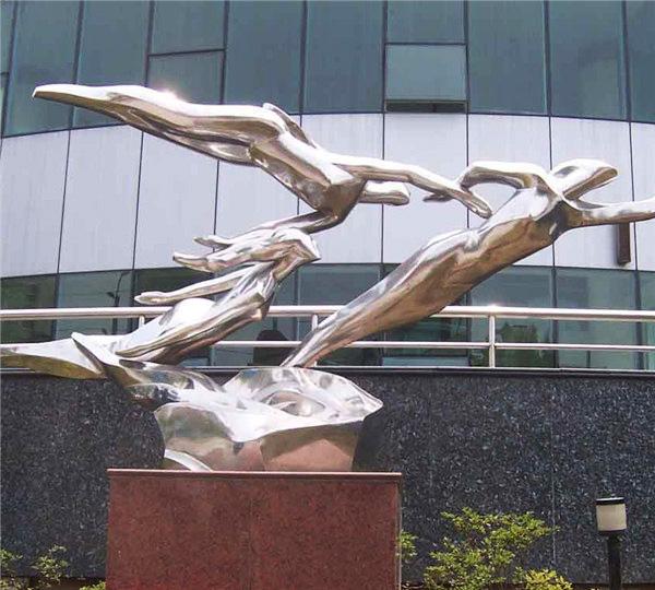 贵州酒店不锈钢雕塑
