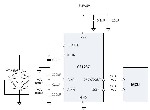 cs1237 迷你秤方案芯片 方案开发