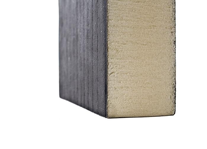 聚氨酯封边岩棉复合板厂家