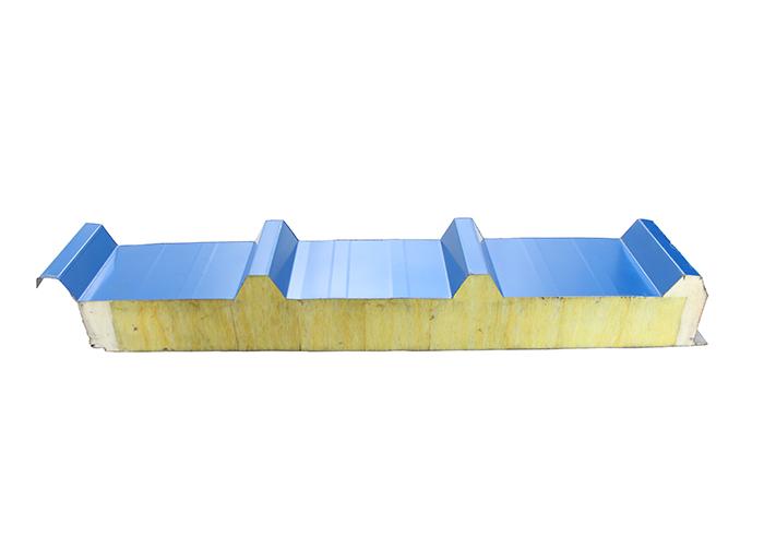 新型玻璃丝棉复合板屋面板