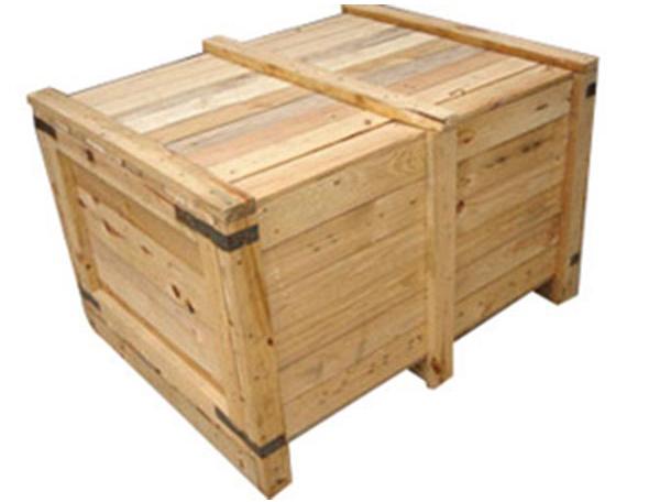 花格实木箱