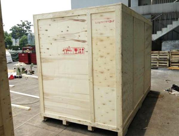 重型设备免熏蒸木箱