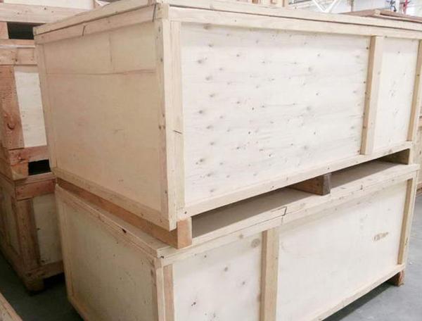 木头包装箱