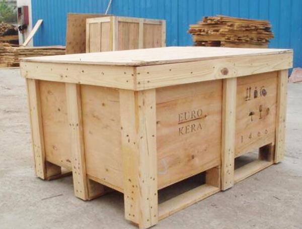 木质材料包装箱