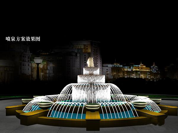 北海喷泉设计