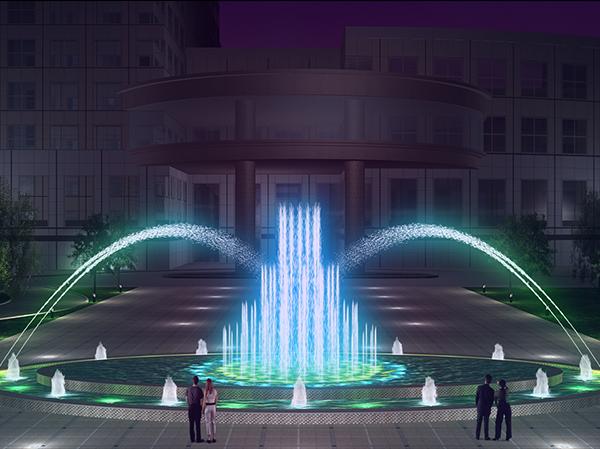 广西喷泉工程