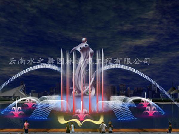 云南喷泉安装
