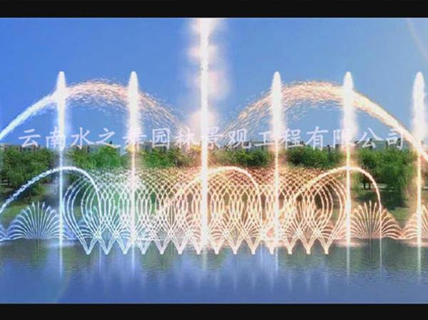 西双版纳喷泉