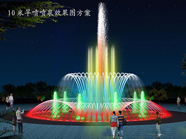 香格里拉喷泉