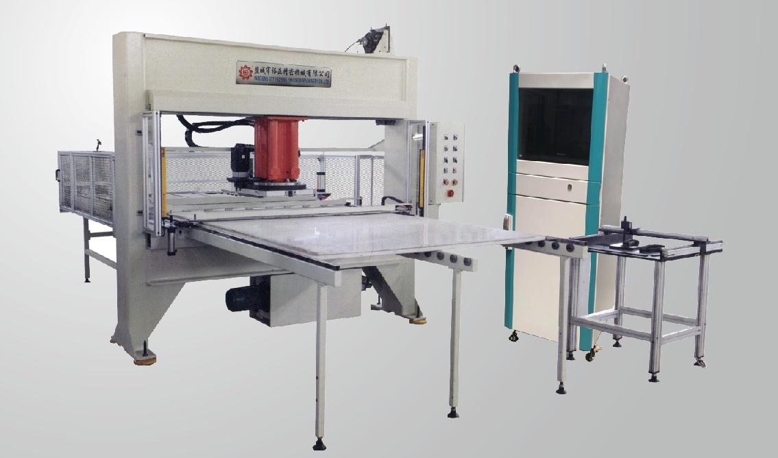 全自动排版卷状材料移动头式裁断机