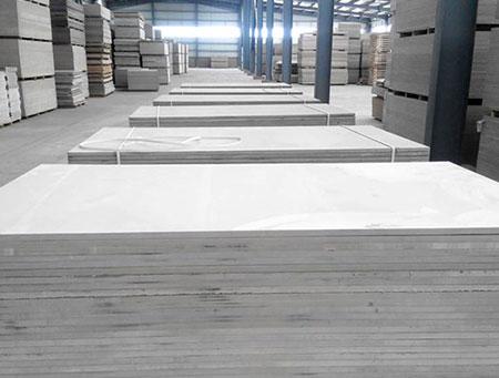 水泥纤维板生产