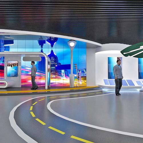 新能源薄膜发电展馆