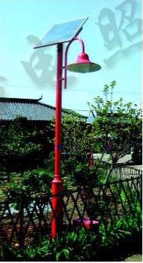 广元太阳能庭院灯厂家