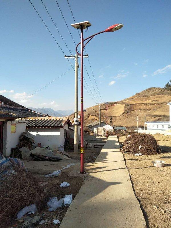 金陽民族特色太陽能路燈2