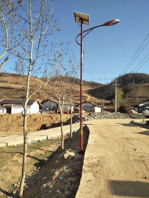 金陽民族特色太陽能路燈6