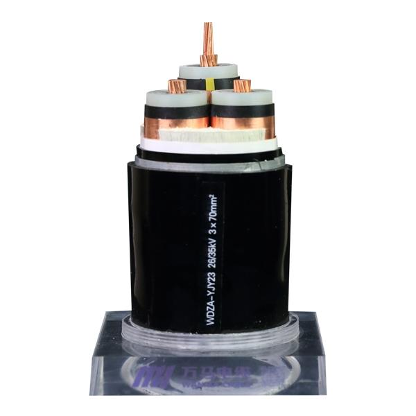 低烟无卤阻燃电缆WDZA-YJY23