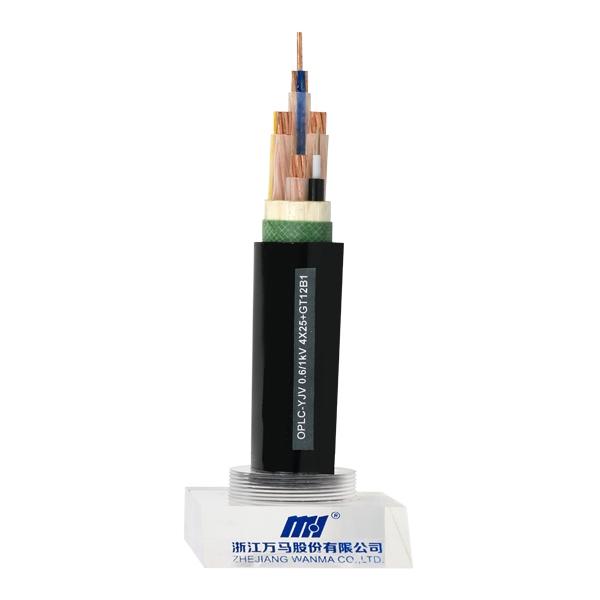 温州光纤复合低压电缆OPLC