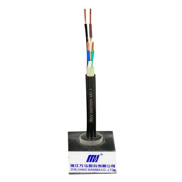 护套软电缆RVV