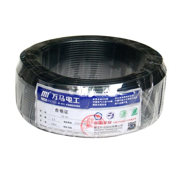 浦江阻燃电线ZR-BV