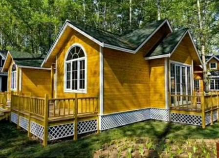 防腐木木屋别墅公司