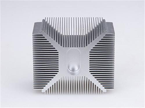 CNC散热器加工