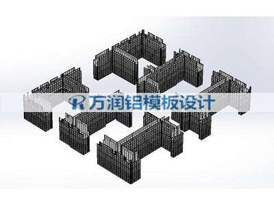 承德铝合金模板设计