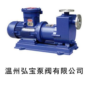 自吸磁力驱动泵