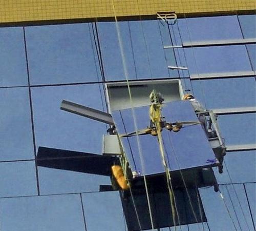 泰興幕牆玻璃更換