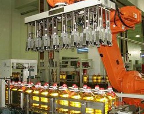 全自动装箱机器人