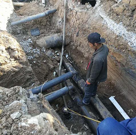 大连厂区内管线更换维修工程