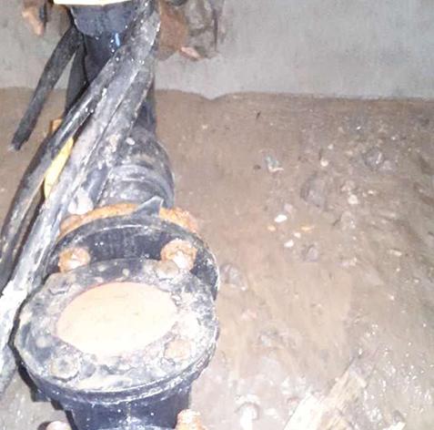 PE管自来水管线安装工程