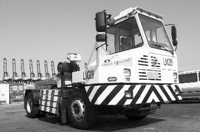 沙田碼頭拖車