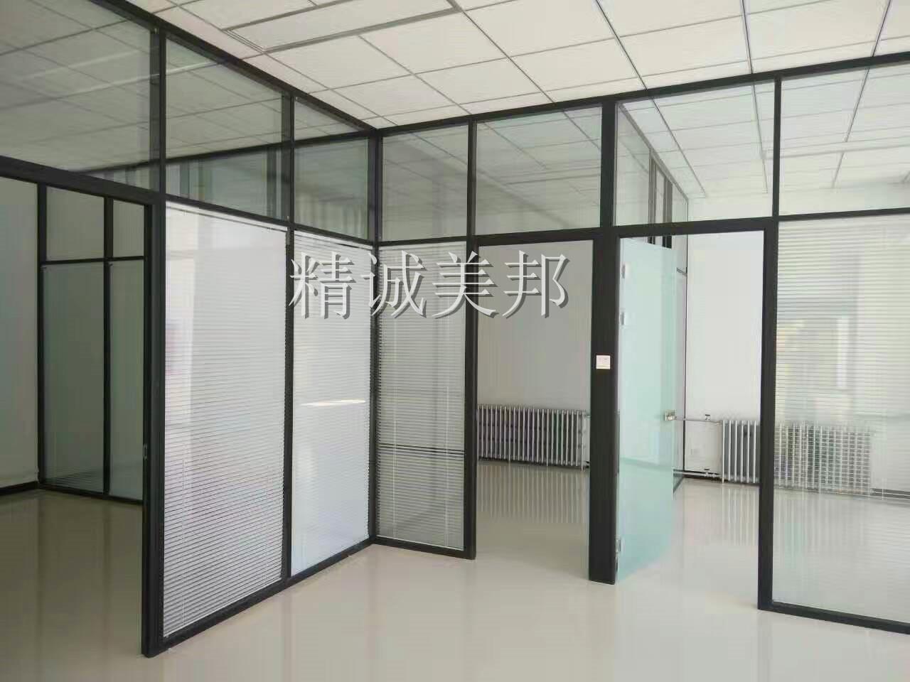 武汉双玻百叶玻璃隔断