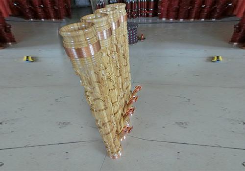 木质水烟筒