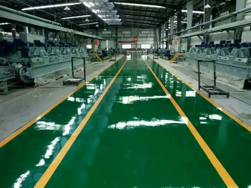 玻璃钢防腐地坪涂装工程