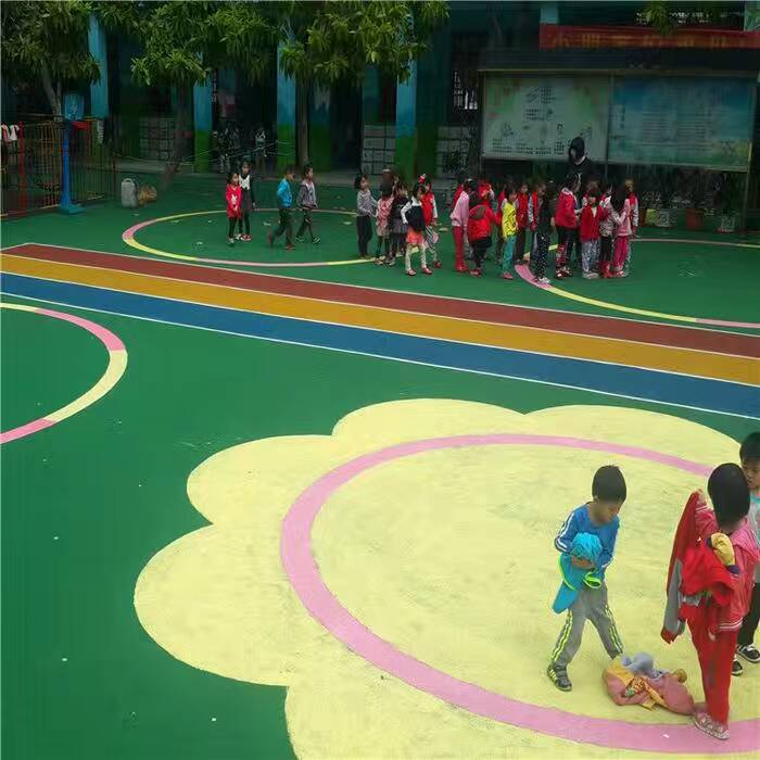 幼儿园球场地坪工程