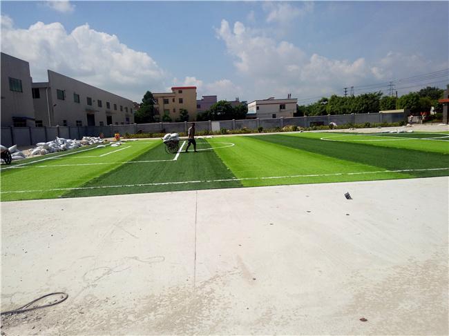 足球场人造草工程