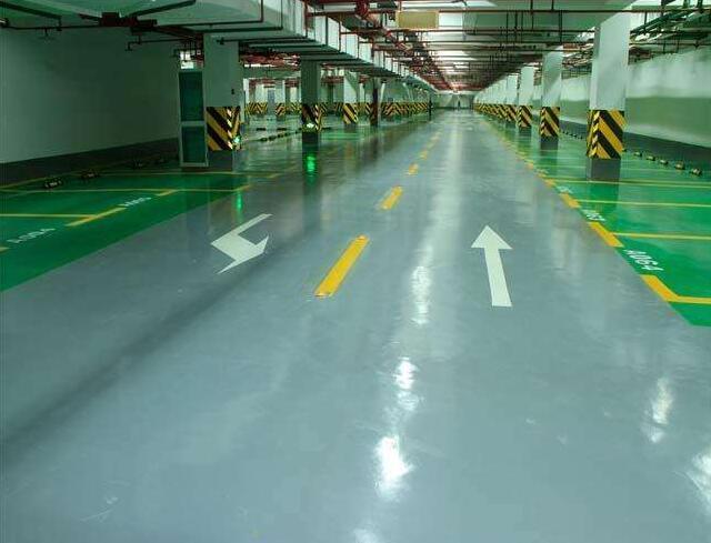 停车场地坪漆工程