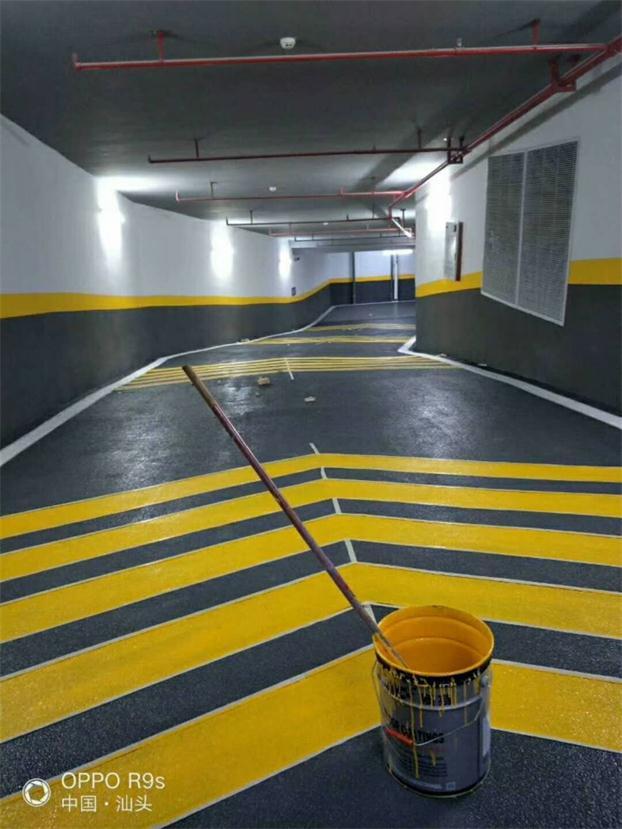 环氧树脂防滑地坪工程