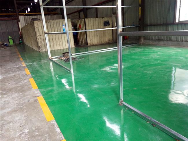 环氧砂浆地坪涂装工程