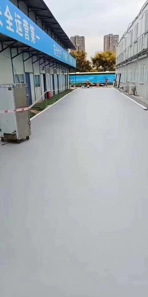 环氧水性地坪漆工程