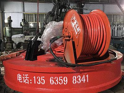 吊运捆扎棒材用起重电磁铁