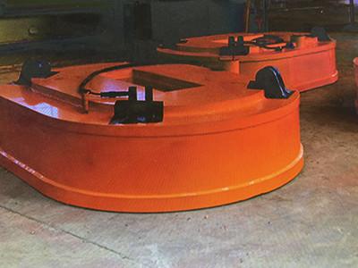 高频椭圆起重电磁铁
