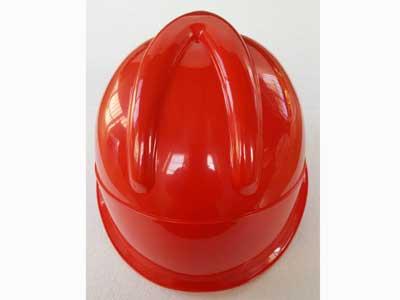 红色V字型安全帽