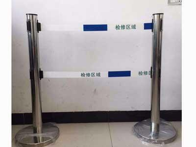 廊坊双带式不锈钢伸缩围栏